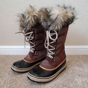 "SOREL Women's ""Joan of Arctic"" tall winter boots"
